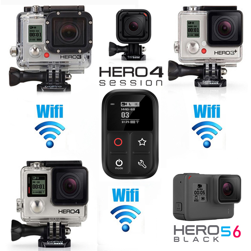 Image 5 - 2019 New  Waterproof WIFI Smart Remote Control For Gopro Hero 8 7