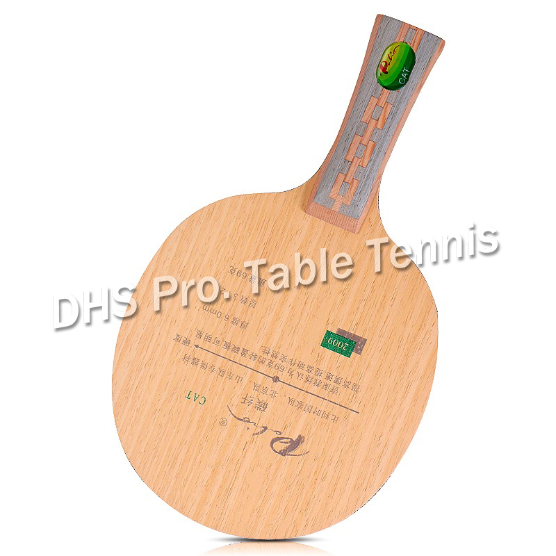 Palio CAT Table Tennis Blade 3wood+2carbon Best Light Blade Table Tennis Racket Racquet Sports