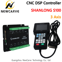 SHANLONG S100 3 Axis DSP Controller Remote For Engraving Machine Cylinder CNC DSP Control NEWCARVE