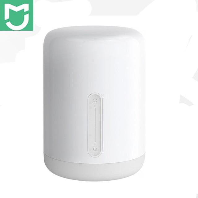 Xiaomi Mijia прикроватная лампа 2 свет WiFi/Bluetooth Светодиодная лампа Смарт Крытый ночник работает с Apple HomeKit