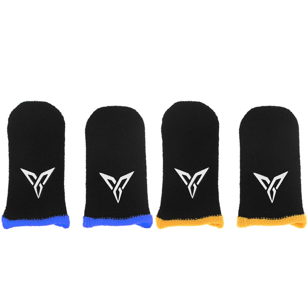 1 Pair L1 R1 Breathable Mobile Game Controller Finger Cover Touch Trigger For Fortnite PUBG Mobile Survival Rules Triggers