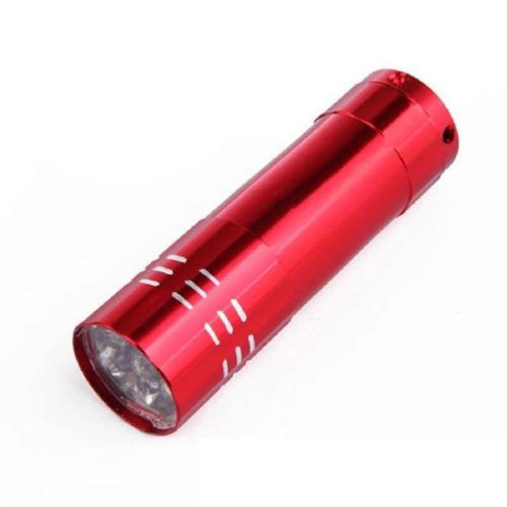 Nagel Trockner Mini LED Taschenlampe 1 stücke UV Lampe Tragbare Für Nagel Gel Schnelle Trockner Heilung 4 Farben Wählen Nagel gel Cure Maniküre Werkzeug