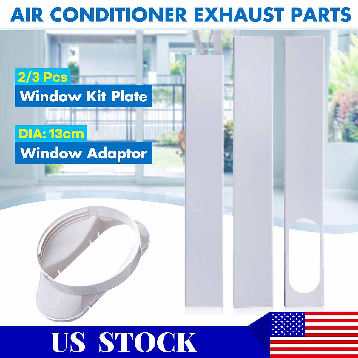 window seal plate air conditioner