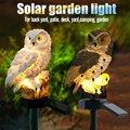 Светодиодный солнечный светильник с изображением совы  солнечный садовый светильник/уличный водонепроницаемый солнечный светильник с изо...