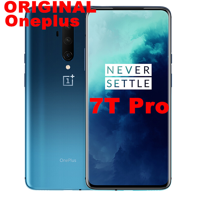 Global ROM OnePlus 7T Pro 7 T Pro Smart phone Android 10 Octa Core 6.67'' Snapdragon 855 Plus 8GB 256GB 48MP Triple Cam 30W NFC|Cellphones| - AliExpress