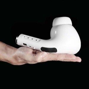 Image 3 - Bluetooth Lautsprecher Big Pea Riesen Headset Lautsprecher FM Mic Tf karte AUX USB Drahtlose Tragbare Lautsprecher Sound 3D Stereo soundbar
