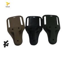 High Quality Tactical Airsoft Belt Holster Drop Adapter Safariland SOG Clip Mount Black/Green/Tan ultrafire nylon flashlight holster w belt clip black
