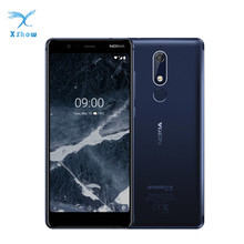 Nokia 5.1 Global version  Mobile phone 3GB RAM 32GB ROM 5.5'' IPS 16MP 8MP Camera MT6755S Octa Core Android 8 Cellphones