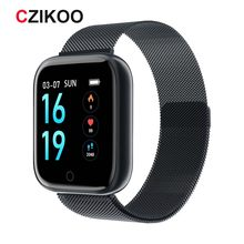 Reloj inteligente IP67 impermeable T80 para hombres y mujeres reloj inteligente para huawei xiaomi apple iOS iPhone Android(China)