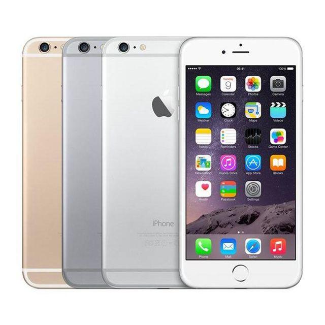 "Used Apple iPhone 6 Mobile Phone 4G LTE 4.7""1GB RAM 16/64/128GB ROM 8.0MP Dual Core iOS Fingerprint Unlocked Smartphone"
