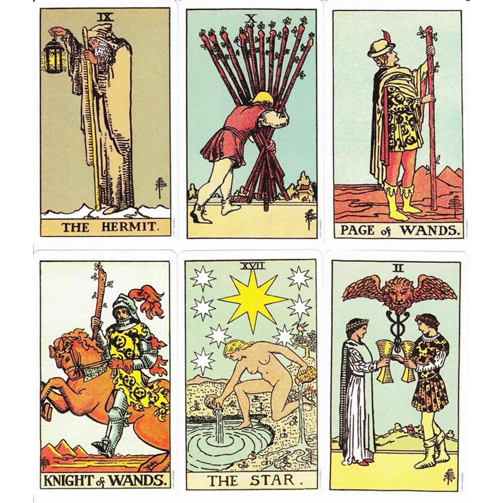 Tarot Cards Full English The Original Rder WaiteTarot Deck For Family Gift Party Playing Card Game Entertainment