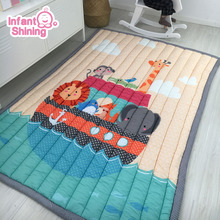 Infant Shining Thickening Baby Play Mat 145x195CM Non-slip Carpet Tatami Living Room Children Bedroom Blanket Large Rugs