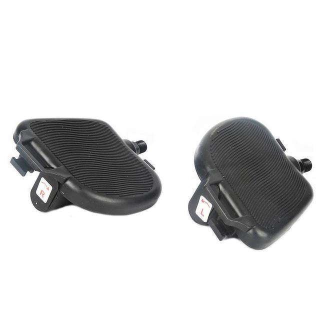 Exercise Bike Pedals with Adjustable Bicycle Widened Straps for Sports Cycling