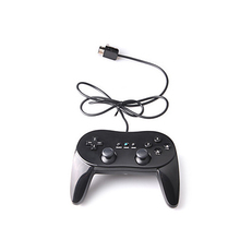 Classic ABS Cable Game Controller Remote Professional Gamepad Vibration For Wii First And Second Generation
