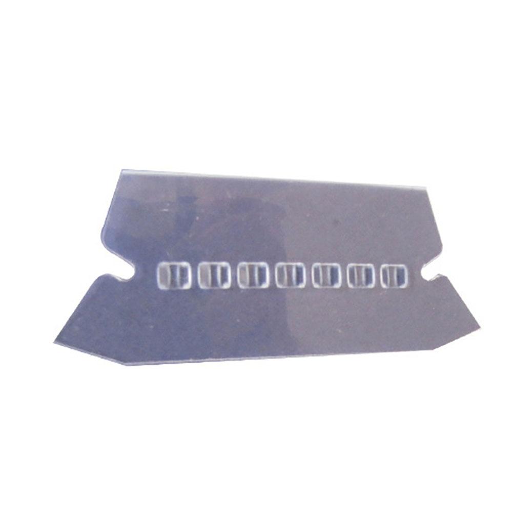 100pcs Transparent PVC File Index Office Professional Crafts Film Smooth Convenient Bendable Durable Label Hanging