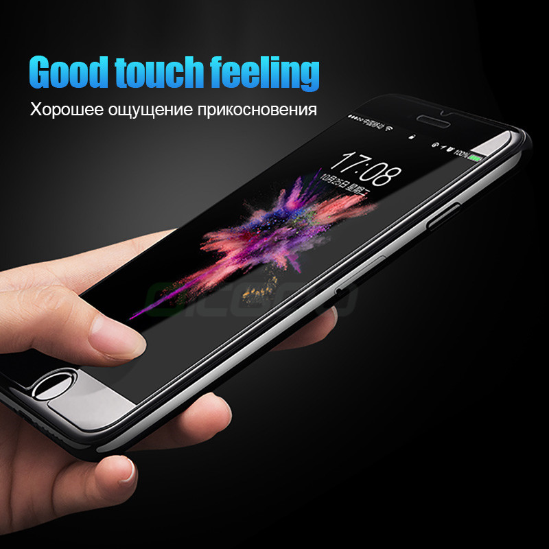 9H Anti Burst Protective Glass On The For iPhone 7 5S 5 6 6s Tempered Screen