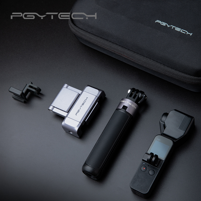 PGYTECH OSMO POCKET VLOG Professional Development Kit Flexible switching shooting mode Storage and carrying case Easy to carry.