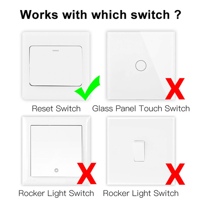 Interruptor atenuador Zigbee 3.0 6