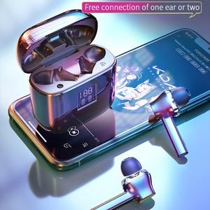 Image 5 - Essager 07B tws ワイヤレス bluetooth 5.0 イヤフォン指紋タッチ xiaomi 用ヘッドセットハンズフリー真のワイヤレス