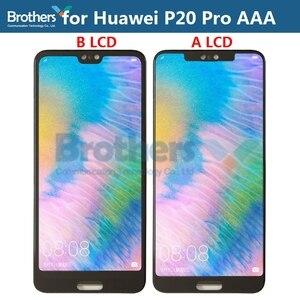 Image 2 - LCD ekran için Huawei P20 Pro LCD ekran için P20 Pro CLT L09 CLT L29 CLT AL00 CLT AL01 LCD meclisi dokunmatik ekran digitizer Test