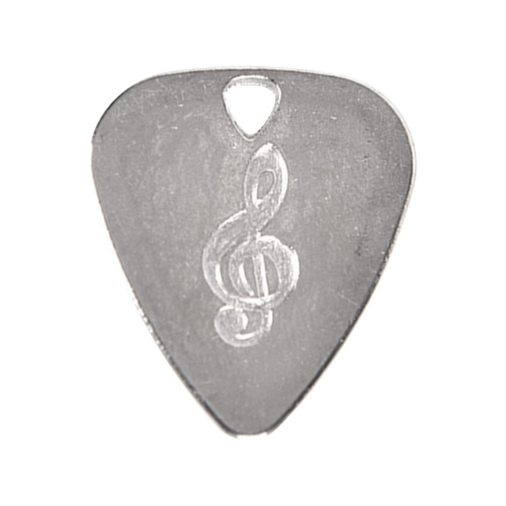 0.75mm Guitar Picks Stainless Steel Zinc Alloy Guitars Picks High-end Picks Fingerpicks Musical Instrument Guitar Accessories