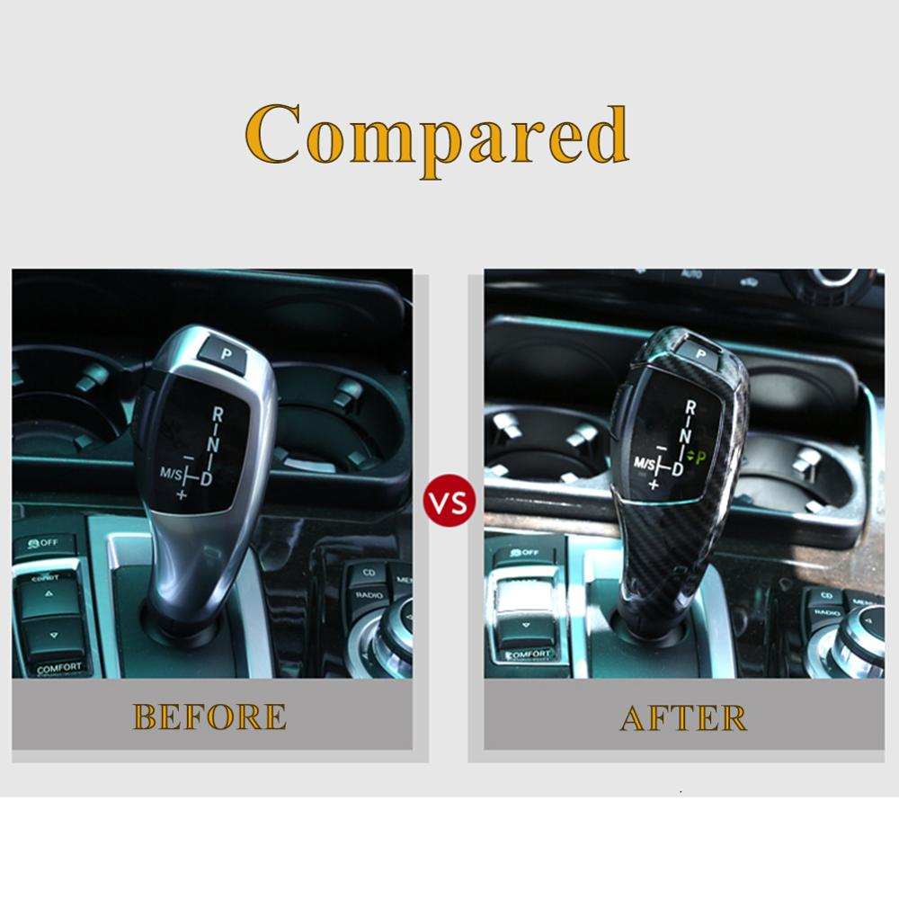 lowest price Auto Interior ABS Gear Shift Cover Decoration Stickers For BMW X5 X6 2015-2018 3 Series GT 2013-2019 Car Styling Accessories