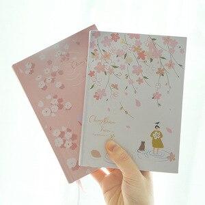 """Image 4 - """"Cherry Blossom"""" sztywne etui pamiętnik piękna sztuka rysunki notatnik dziennik notatnik darmowe notatki biurowe prezent"""