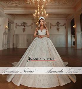 Image 2 - New model beading wedding dress custom order professional dress