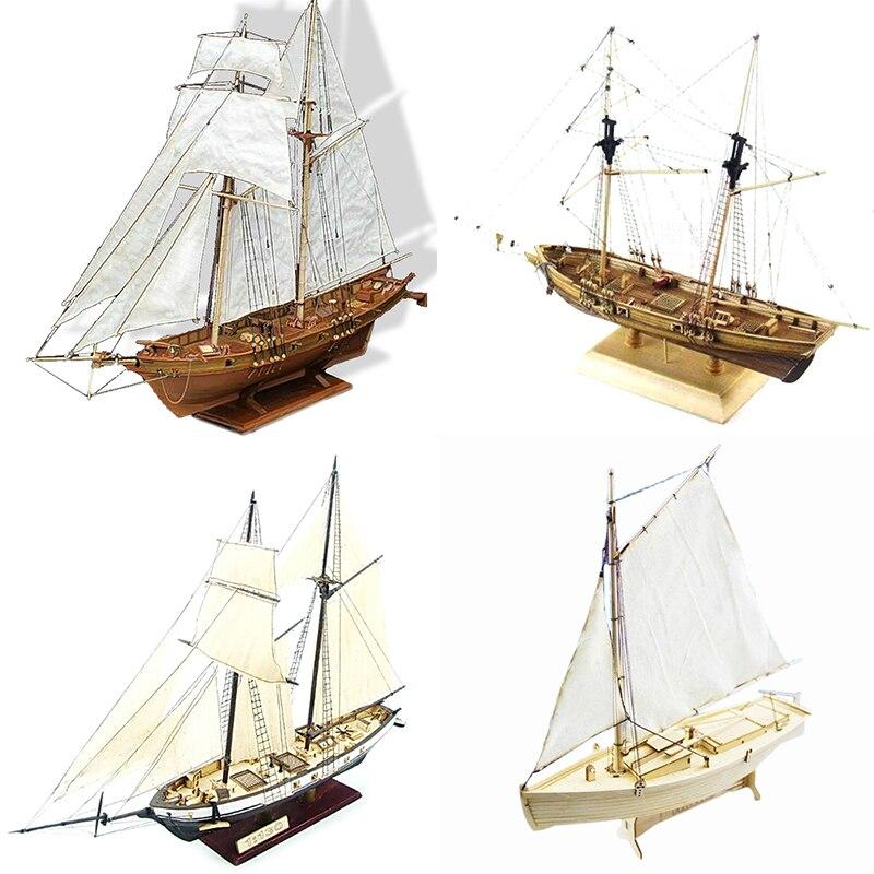 Новое поступление, модель корабля «сделай сам» 1:130/100/70/30, модель классической деревянной лодки, украшение из дерева