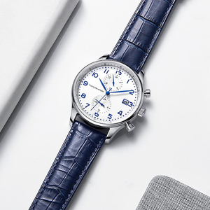 Image 4 - Youpin TwentySeventeen אור עסקי קוורץ שעון באיכות גבוהה אלגנטיות 2 צבעים עם משלוח נירוסטה חגורה