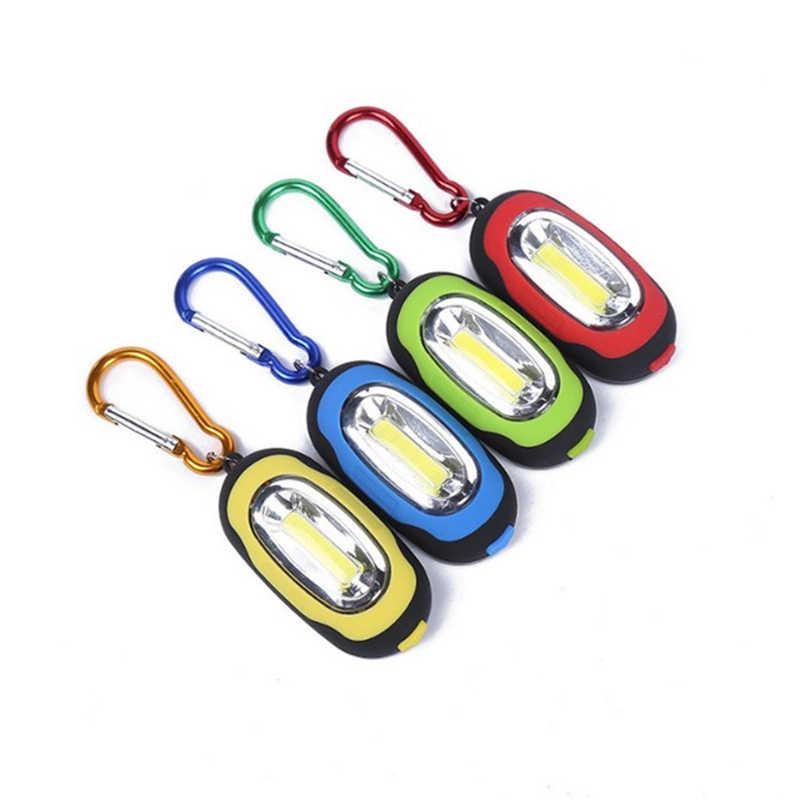 נייד מיני LED בהירות גבוהה אור מפתח טבעת פנס מפתח שרשרת קמפינג כלים LED פנס אור מיני מנורת מפתח שרשרת