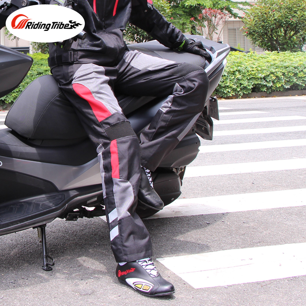 Waterproof Pants Jacket for Motorcycle Riding Trousers Raincoat Rainwear Suit Moto Protective Safety Protective Clothing HP-12 2