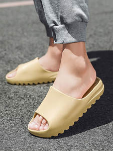 Summer Slippers Beach-Shoes Sandals Women Open-Toe Slides Men Soft-Outside Latest Fashion