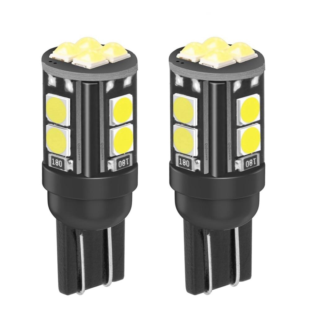 2 шт., Сверхъяркие светодиодные лампы T10 W5W WY5W 2020 168 921 2825