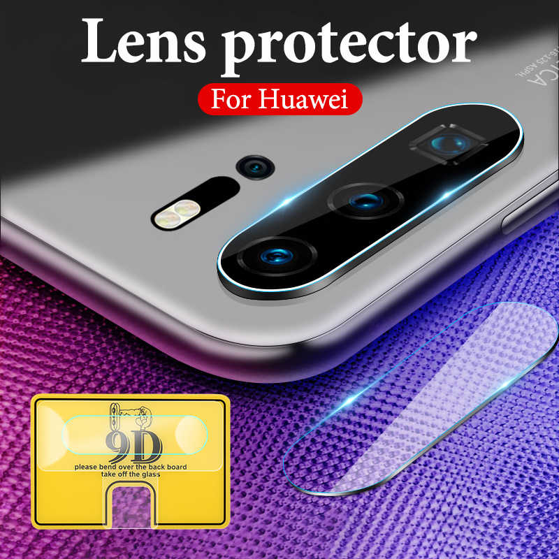 9D Camera Screen Protector For Huawei Honor 10 9 20 Lite 10i 20i 7A Pro 7C Soft Tempered Glass Protective Camera Len Film