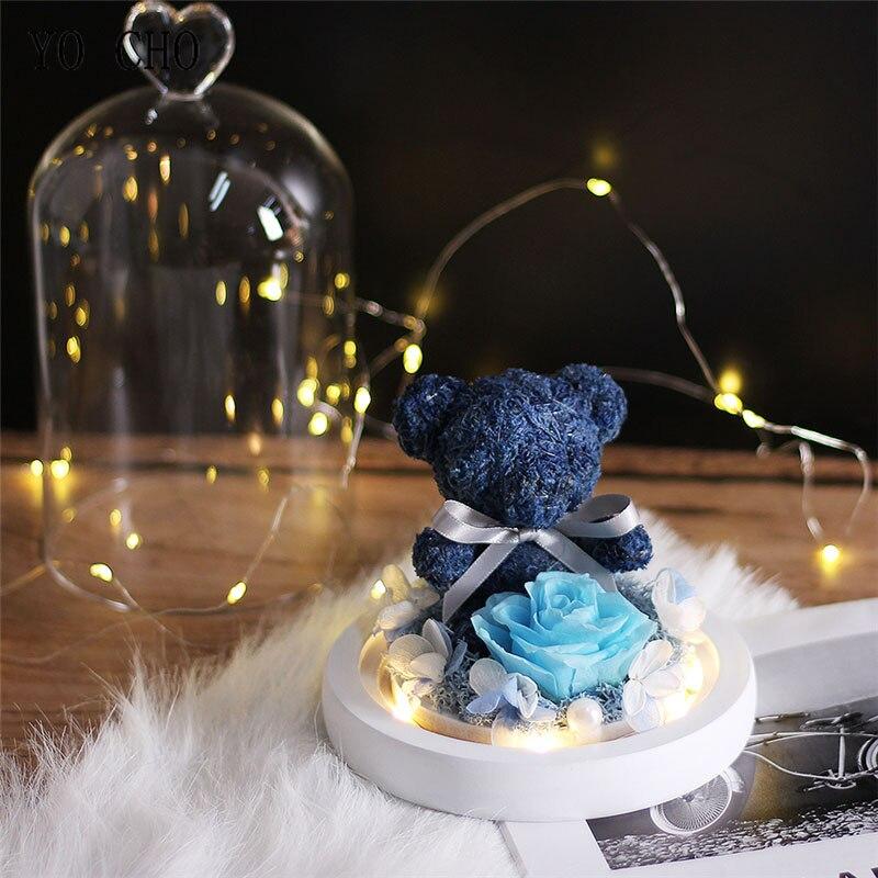 Teddy-Bear-Ewige-Erhalten-Rose-Guardian-Bear-Immortal-Flora-Led-Licht-Rose-In-Glass-Mother-s (2)