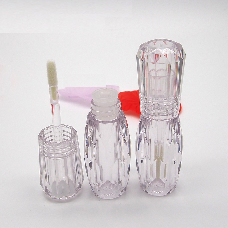 3 ML Clear Lipgloss Tubes with Clear Wand Empty Cosmetic Container DIY Eyeshadow Liquid Lip Gloss Containers 10pcs 30pcs 50pcs image