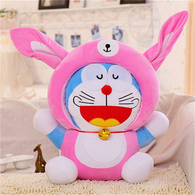 2020 new robot cat transformed into a zodiac doll plush toy Doraemon doll doll pillow to comfort the sleeping doll doll car pend