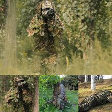 Hunting Secretive Woodland Ghillie Suit Aerial Shooting Jungle Green Military Multicam Clothes Adults Camouflage Clothing S L7Z1