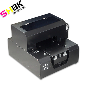 SHBK. mobile phone shell printer equipment small 3d relief production equipment,epson a4 size uv printer