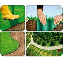 Grass-Edge Trellis Fence-Wall-Roll Lawn Border Garden-Plant Grounding 10/12/15/20cm