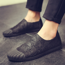 Brand Fashion Men's Canvas shoes Male casual soft low