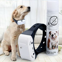 Stop Barking Rechargeable Citronella Dog Collar Anti Bark Train Mist Spray Anti Bark Train Mist Spray Dog Supplies