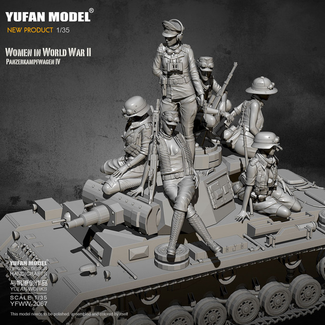 Women in World War II-PANZER IV 1/35