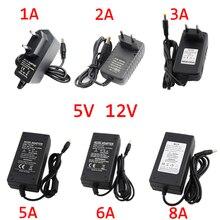 цена на AC Adapter DC 12V Universal Power Supply AC DC Adapter 5V 1A 2A 3A 5A 6A 8A Power Supply Charger 12V 1A 2A 3A 5A 6A 8A Converter