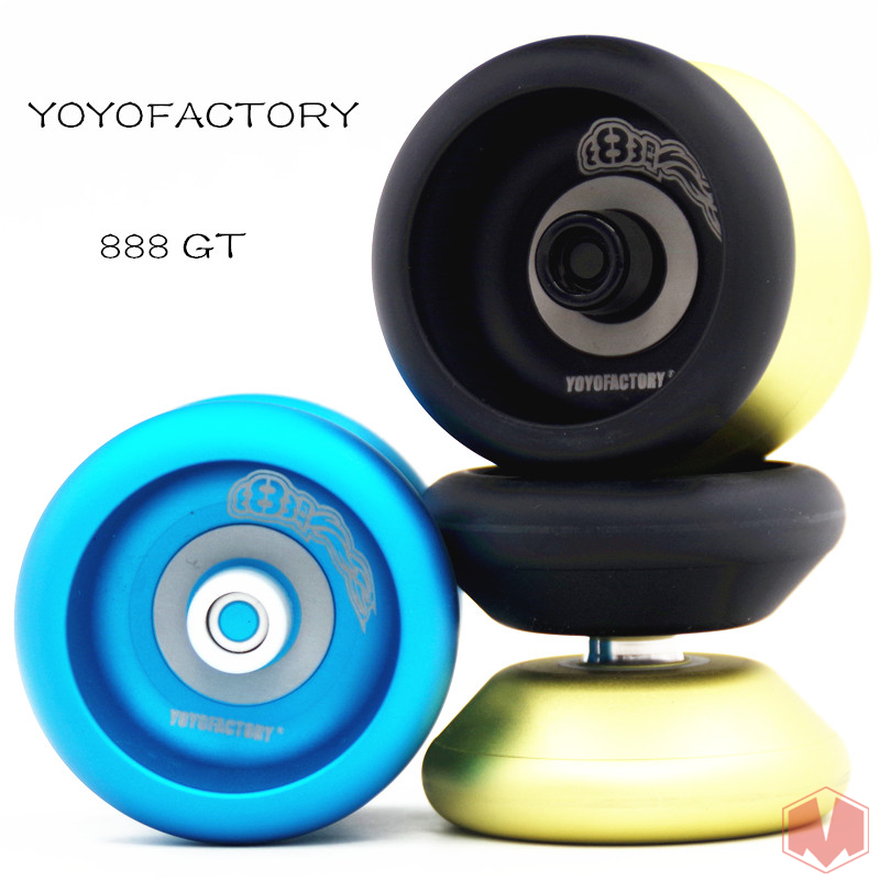 yoyofactory 888 GT YOYO Aftertaste the classic yo-yo YOYO side axle metalyoyo