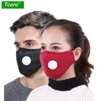 Anti Verschmutzung Maske Staub Atemschutz Waschbar Wiederverwendbare Masken Baumwolle Unisex Mund Muffel für Allergie/Asthma/Reise/Radfahren