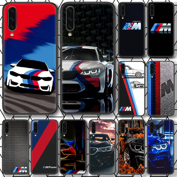 Blue Red Car For Bmw Phone Case For Samsung Galaxy Note S 8 9 10 20 Plus E Lite Uitra black waterproof painting Etui trend cover image