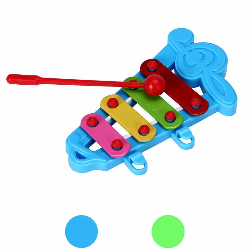 Bebé niños xilófono divertido juguetes musicales desarrollo de la sabiduría pero notas de mano tocar piano juguetes educativos temprano para niños
