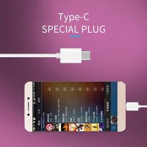 Image 5 - TC 16 유선 USB 타입 C 이어폰 소프트 실리콘 이어 버드 서브 우퍼 마이크 음악 헤드셋 삼성 S20 Ultral Xiaomi 화웨이